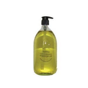Massage Oil in a range of beautiful scents