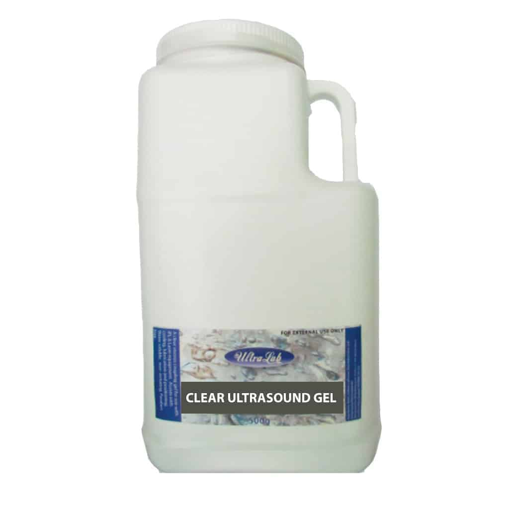 clear ultrasound gel